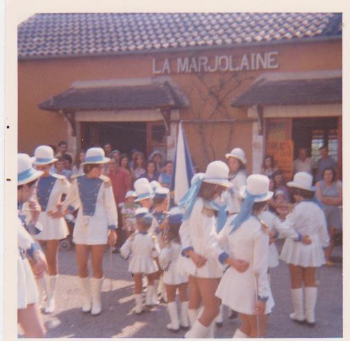 Août 1982, fête du village.