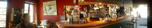 Salle du bar.